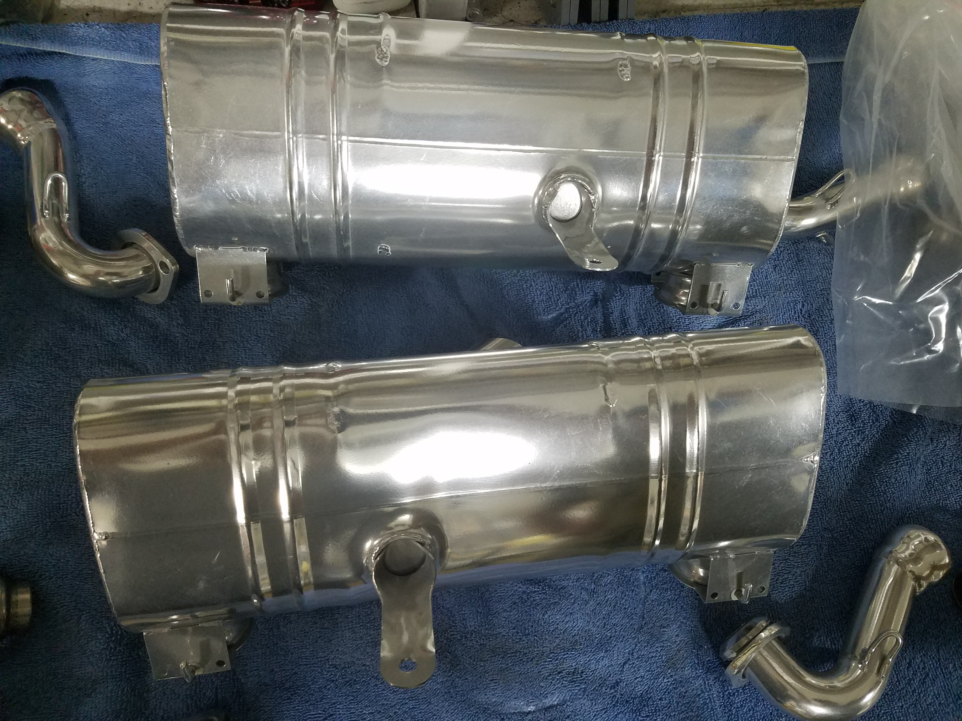 Dual Exhaust System for Rotax 912